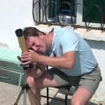 """Телескоп: Coronado PST 40 mm  Владелец: Киевский клуб любителей астрономии """"Астрополис"""""""