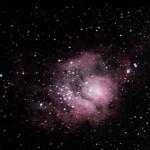 Туманность М8 («Лагуна»). Бунжуков Олег (Брянск) ахромат DeepSky 150х990 EQ5, фильтр UHC-S