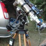 Телескоп: Sky-Watcher ED80 на монтировке EQ3 с самодельным автогидом и GOTO   Владелец:  Плаха Александр (г. Донецк)