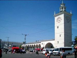 Вид привокзальной площади от автовокзала