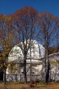 КрАО. Башня исторического 1, 2-метрового рефлектора АЗТ-25