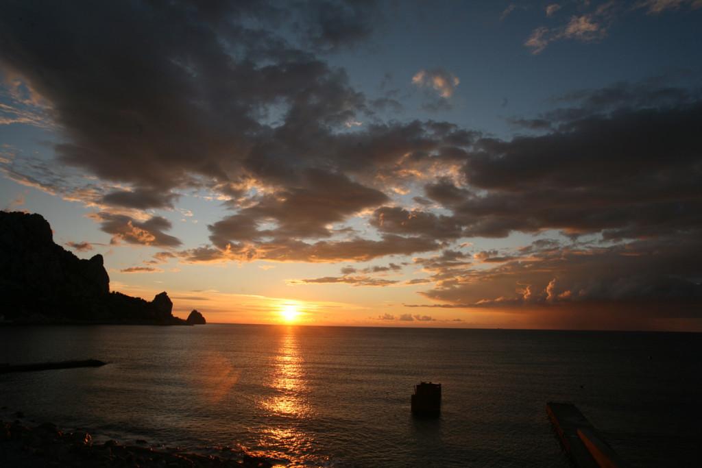 Восход в Кацивели